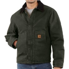 Carhartt Arctic Jacket - Sandstone (For Men) in Moss - 2nds