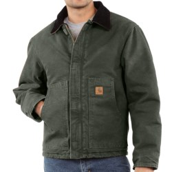 Carhartt Arctic Jacket - Sandstone (For Tall Men) in Moss