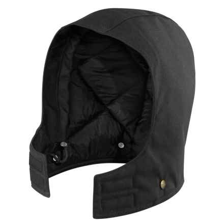 Carhartt Arctic Quilt-Lined Sandstone Hood - Insulated, Factory 2nds (For Men) in Black - 2nds