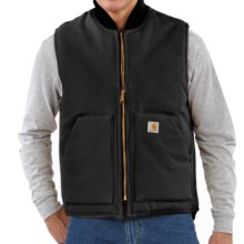 Carhartt Arctic Vest - Quilt Lined (For Men) in Black - 2nds