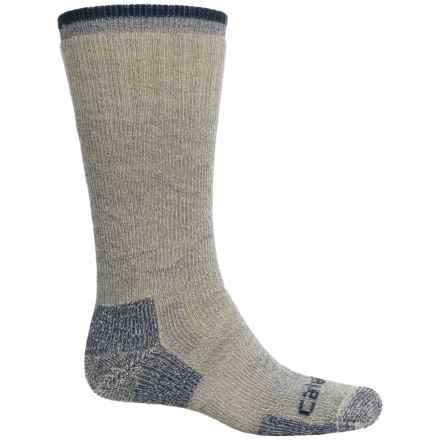 Carhartt Arctic Wool Boot Socks - Mid Calf (For Men) in Navy - Closeouts