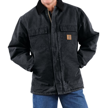 Carhartt Arctic Work Coat - Factory Seconds (For Men) in Dark Brown