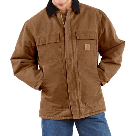 Carhartt Arctic Work Coat - Factory Seconds (For Men) in Carhartt Brown