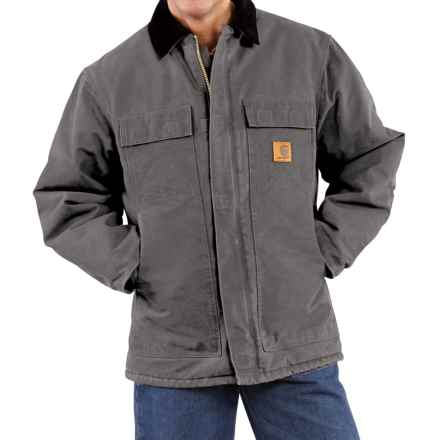 Carhartt Arctic Work Coat - Factory Seconds (For Men) in Gravel - 2nds
