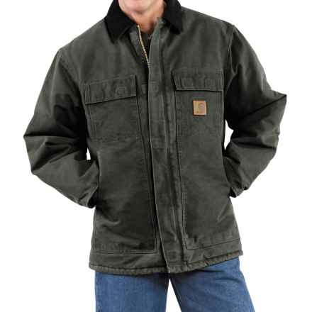 Carhartt Arctic Work Coat - Factory Seconds (For Men) in Moss - 2nds