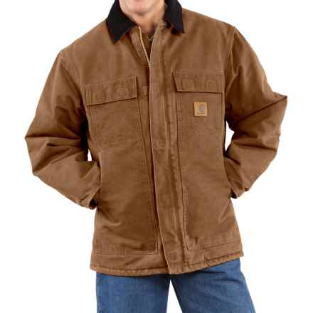 Carhartt Arctic Work Coat - Factory Seconds (For Tall Men) in Carhartt Brown - 2nds