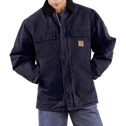 Carhartt Arctic Work Coat - Factory Seconds (For Tall Men) in Midnight - 2nds
