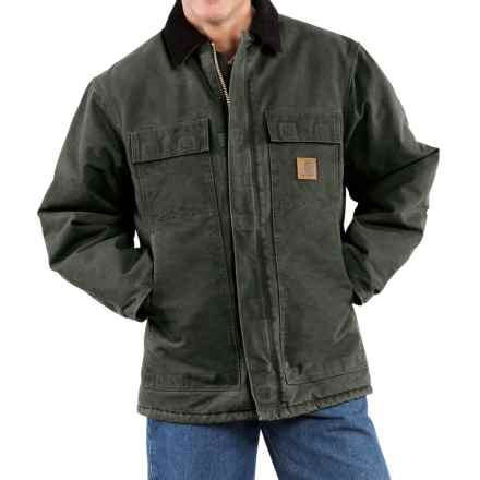 Carhartt Arctic Work Coat - Factory Seconds (For Tall Men) in Moss - 2nds