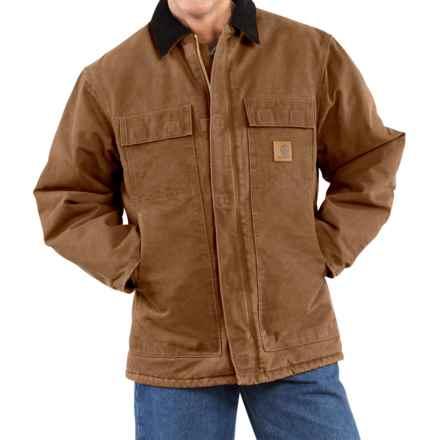 Carhartt Arctic Work Coat (For Men) in Carhartt Brown - 2nds