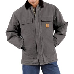 Carhartt Arctic Work Coat (For Men) in Gravel