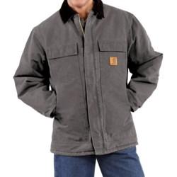 Carhartt Arctic Work Coat (For Men) in Gravel