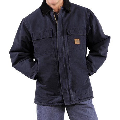 Carhartt Arctic Work Coat (For Men) in Midnight