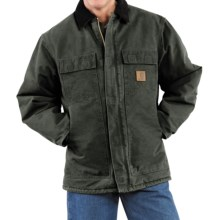 Carhartt Arctic Work Coat (For Men) in Moss - 2nds