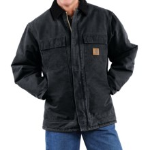 Carhartt Arctic Work Coat (For Tall Men) in Black - 2nds