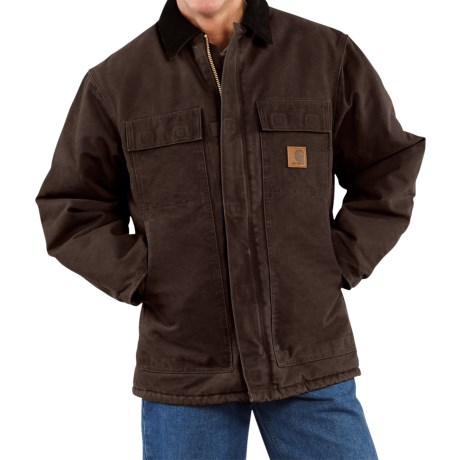 Carhartt Arctic Work Coat (For Tall Men) in Carhartt Brown