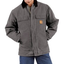 Carhartt Arctic Work Coat (For Tall Men) in Gravel - 2nds