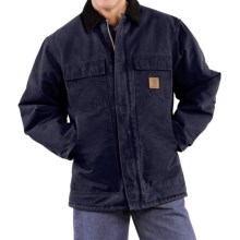 Carhartt Arctic Work Coat (For Tall Men) in Midnight - 2nds
