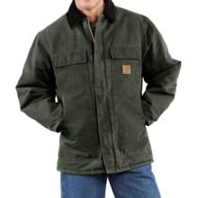 Carhartt Arctic Work Coat (For Tall Men) in Moss - 2nds