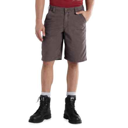 Carhartt Ardmore Khaki Shorts - Relaxed Fit (For Men) in Gravel - 2nds