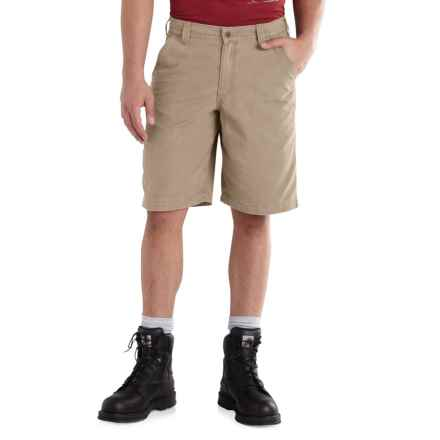 Carhartt Ardmore Khaki Shorts - Relaxed Fit (For Men) in Tan - 2nds