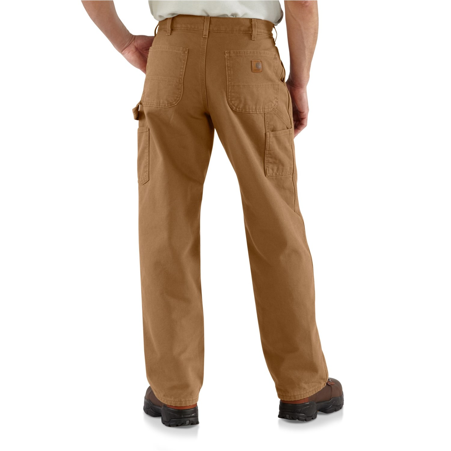1ce9305878 Carhartt B11 Washed Duck Work Dungaree Jeans - Factory Seconds (For Big and Tall  Men)