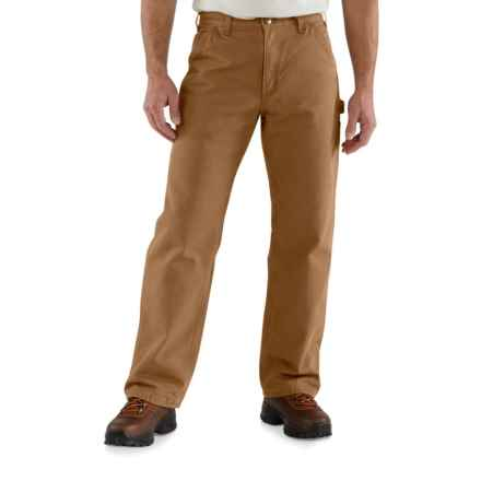 4d4a98d236 Carhartt B11 Washed Duck Work Dungarees - Factory Seconds (For Men) in  Carhartt Brown