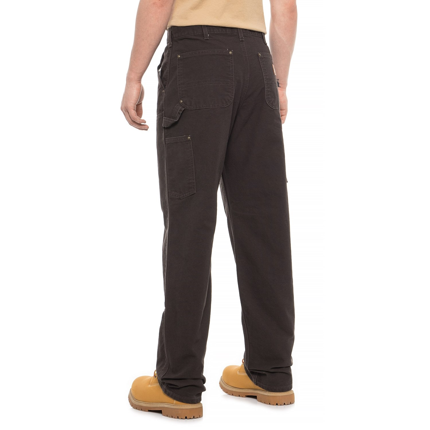 e19b862536 ... 645UK_3 Carhartt B136 Washed Duck Double-Front Work Dungarees - Factory  Seconds (For Men