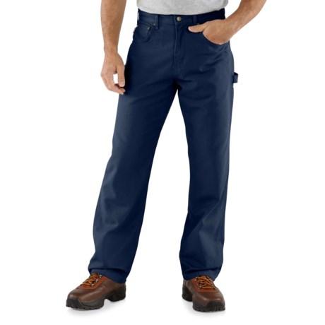 a95b668e21 Carhartt B159 Canvas Carpenter Jeans (For Men) in Navy