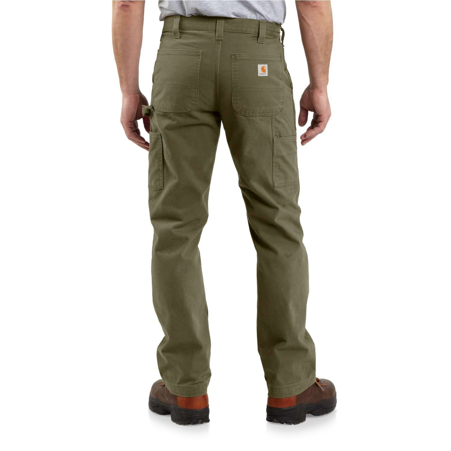 bc3909e2153 Carhartt B324 Washed Twill Work Pants - Relaxed Fit, Factory Seconds (For  Men)