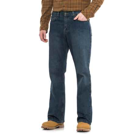 Carhartt B330 Relaxed Fit Jeans - Bootcut, Factory Seconds (For Men) in Lead Space Dye - 2nds