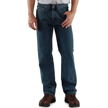 50a51e86373 Carhartt B460 Work Jeans - Relaxed Fit, Straight Leg, Factory Seconds (For  Men