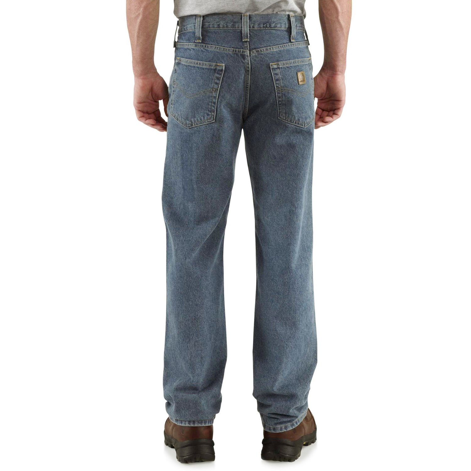 b8a192648afcb Carhartt B460 Work Jeans - Relaxed Fit, Straight Leg, Factory Seconds (For  Men)