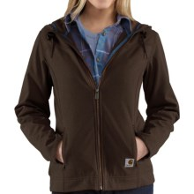 Carhartt Bainbridge Soft Shell Jacket (For Women) in Dark Brown - Closeouts