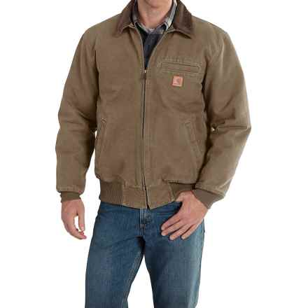 Carhartt Bankston Sandstone Duck Jacket - Factory Seconds (For Men) in Light Brown - 2nds