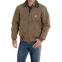 Carhartt Bankston Sandstone Duck Jacket (For Big and Tall Men) in Light Brown - 2nds