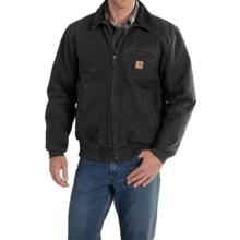 Carhartt Bankston Sandstone Duck Jacket (For Men) in Black - 2nds