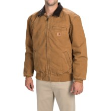 Carhartt Bankston Sandstone Duck Jacket (For Men) in Carhartt Brown - 2nds