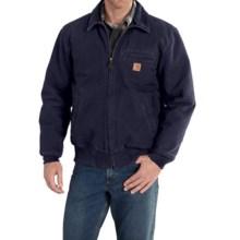 Carhartt Bankston Sandstone Duck Jacket (For Men) in Midnight - 2nds