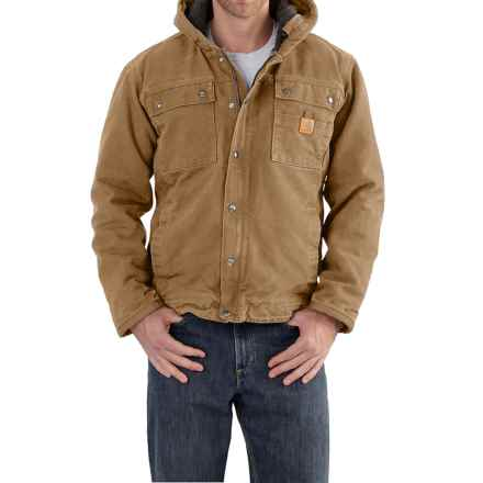 Carhartt Bartlett Sherpa-Lined Jacket - Factory Seconds (For Men) in Frontier Brown - 2nds