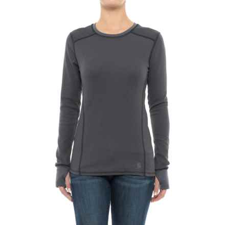 Carhartt Base Force® Cold-Weather Shirt - Crew Neck, Long Sleeve (For Women) in Black - Closeouts