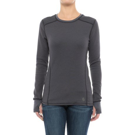 Carhartt Base Force® Cold-Weather Shirt - Crew Neck, Long Sleeve (For Women) in Black
