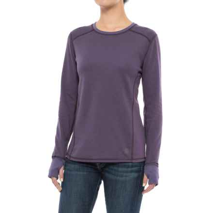 Carhartt Base Force® Cold-Weather Shirt - Crew Neck, Long Sleeve (For Women) in Plum - Closeouts