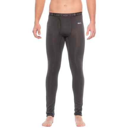 Carhartt Base Force® Cool-Weather Base Layer Pants - Factory Seconds (For Big and Tall Men) in Black - 2nds