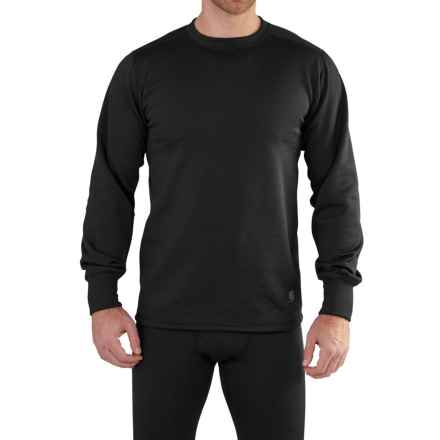 Carhartt Base Force Extremes® Super-Cold-Weather Shirt - Long Sleeve, Factory Seconds (For Men) in Black - 2nds
