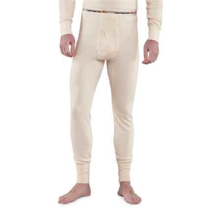 Carhartt Base Force® Super-Cold-Weather Cotton Base Layer Pants - Factory Seconds (For Big and Tall Men) in Natural - 2nds