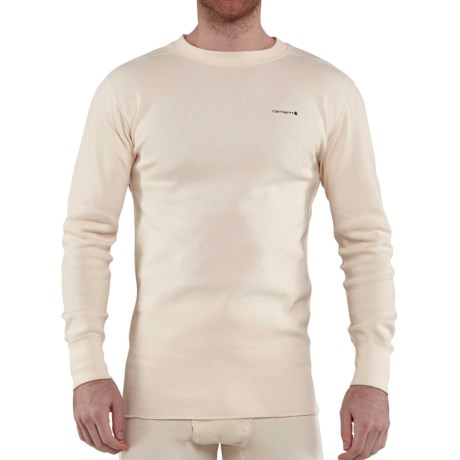 Image of Carhartt Base Force(R) Super-Cold-Weather Cotton Shirt - Crew Neck, Long Sleeve, Factory Seconds (For Big and Tall Men)