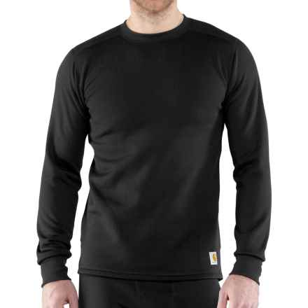 Carhartt Base Force® Super-Cold-Weather Shirt - Long Sleeve, Factory Seconds (For Men) in Black - 2nds