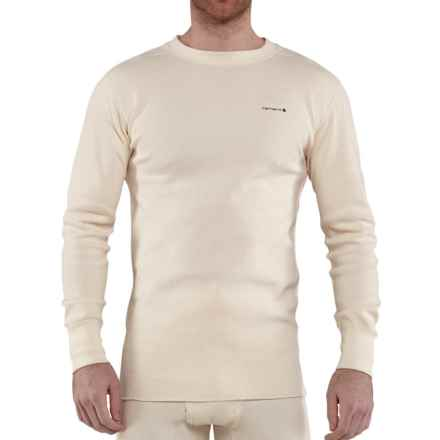 Carhartt Base Force® Super-Cold-Weather Shirt - Long Sleeve, Factory Seconds (For Men) in Natural - 2nds