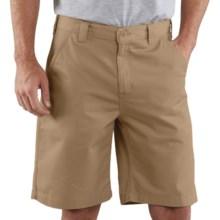 Carhartt Basic Cotton Work Shorts (For Men) in Golden Khaki - 2nds