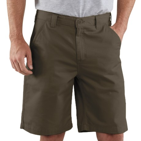 Carhartt Basic Cotton Work Shorts (For Men) in Golden Khaki